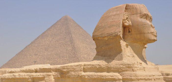 Cairo - Sfinge e Piramide di Cheope