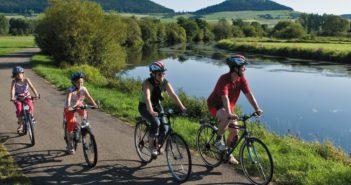 In bici sulle rive del Danubio