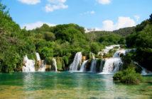 Cascate nel Parco Nazionale di Krk
