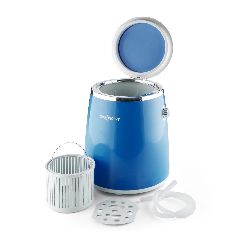 Mini lavatrice portatile con centrifuga da campeggio for Mini lavatrice