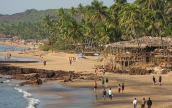 Anjuna Beach - Goa