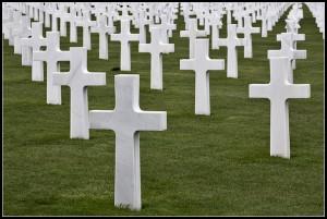 Cimitero americano a Colleville-sur-Mer - Francia
