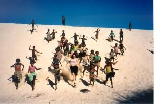 Madagascar - Corsa sulle dune
