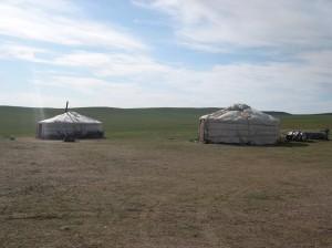 Gher della Mongolia
