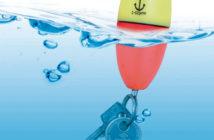Portachiavi galleggiante con luce