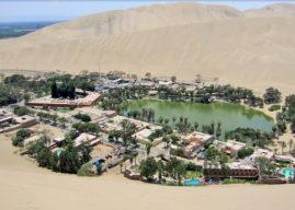 """Huacachina (Perù), la """"più bella oasi d'America"""""""