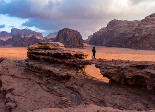 Wadi Rum (Giordania), dormendo sotto una coperta di stelle