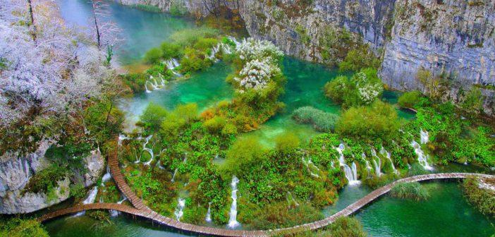 Uno scorcio del Parco Nazionale dei Laghi di Plitvice