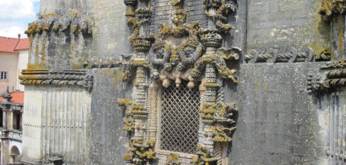 Finestra del convento del Cristo a Tomar
